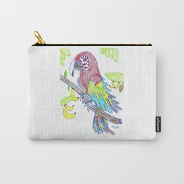 Scarlett Macaw Carry-All Pouch