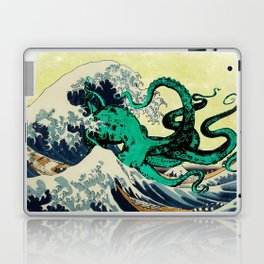 Great Octo-Wave Laptop & iPad Skin