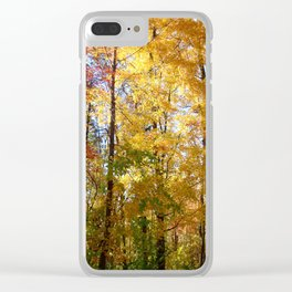 Peek through the Trees Clear iPhone Case
