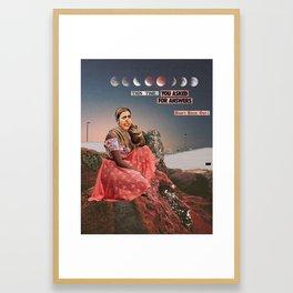 Dont back out Framed Art Print