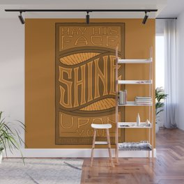 SHINE UPON YOU - Handlettering Verse Wall Mural