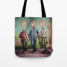 The Three Distinguished Members of the Committee to Handle the Squirrel Problem Tote Bag