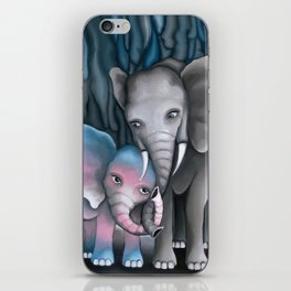Elephant Love 2 iPhone Skin