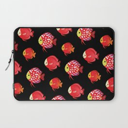 Red discus Laptop Sleeve