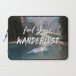 Feel your Wanderlust Laptop Sleeve