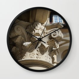 Altes Schloss Stuttgart - Innenhof Wall Clock