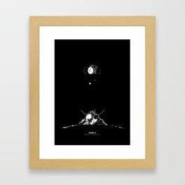 MARS 3 Framed Art Print