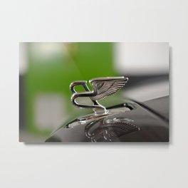 Bentley badge Metal Print