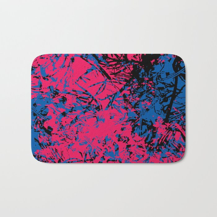 Abstract 8 Bath Mat