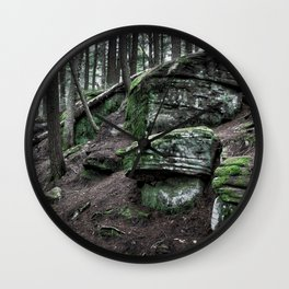 Algonquin Park, Ontario Wall Clock