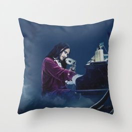 Tuomas Holopainen ''From G To E Minor'' Throw Pillow