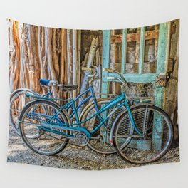 Let's Go For A Ride Wall Tapestry