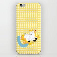 u for unicorn iPhone & iPod Skin