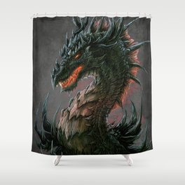 Regal Dragon Shower Curtain