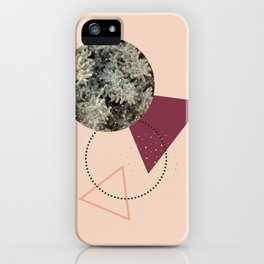 Golden Snow #society6 #decor #pink iPhone Case