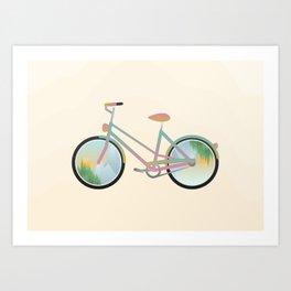 Pimp my bike Art Print