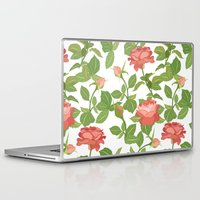 roses Laptop & iPad Skins featuring Roses by Julia Badeeva