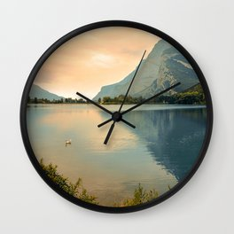 Autumn Glance Wall Clock