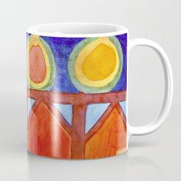 Cabins With Festive Lights Coffee Mug