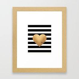 GOLD HEART PRINT, Heart Print,Heart Sign,Heart Decor,Gold Print,Gold Foil,Love Word,Love Quote,Love Framed Art Print
