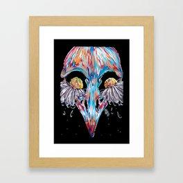 Bird Tears Framed Art Print