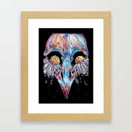 Bird Tears Framed Art Print