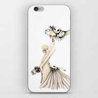nightmare before christmas iPhone & iPod Skins featuring Nightmare Before Christmas x Bridal by ginosunscreen