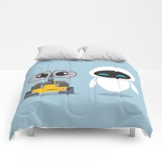 Wall-E and Eve Comforters
