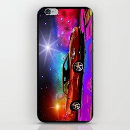 Cosmic vette iPhone Skin