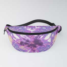 Tie-Dye Linen Bloom Fanny Pack