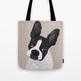 Boston Terrier 2015 Tote Bag