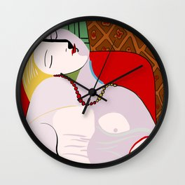 Picasso - The Dream Wall Clock
