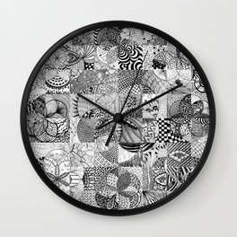 Art in Action Logo Wall Clock