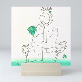 Poppy Seed Wash Mini Art Print