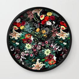 Summer Botanical Garden XII Wall Clock