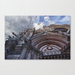 Siena details Canvas Print