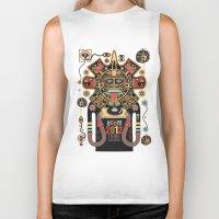 spirit Biker Tanks featuring Mayas Spirit - Boom 2012 by Exit Man
