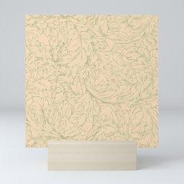 """William Morris """"Acanthus Scroll"""" 11. Mini Art Print"""