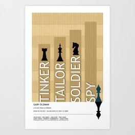 Tinker Tailor Soldier Spy Art Print
