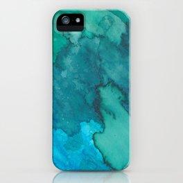 TieDyeOcean iPhone Case