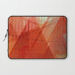 Orange abstract  Laptop Sleeve