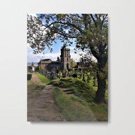 Ancient Church Metal Print