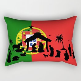 Portuguese Natal Rectangular Pillow