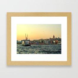 City of Mystery (2) Framed Art Print