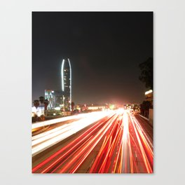 the fast lane Canvas Print