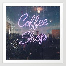 Coffee Shop Kunstdrucke