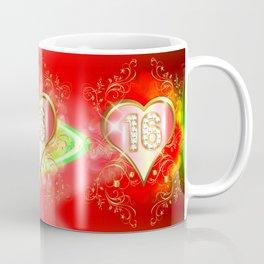 Sweet Red 16 Coffee Mug