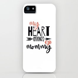 Funny Valentines Day Shirt iPhone Case