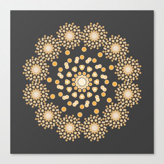 Atom B4 - Grey Canvas Print