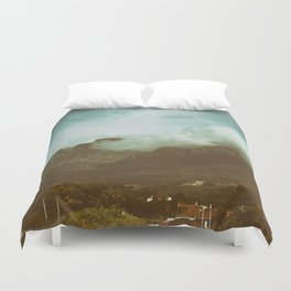 Over the Mountain Duvet Cover